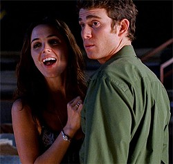 Eliza Dushku can't act sexy, and Bryan Greenberg is utterly charmless.