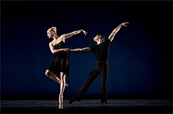 ERIK TOMASSON - Elizabeth Miner and Nicolas Blanc in SF Ballet's production of 7 for Eight.