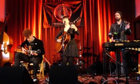 Emily Jane White (c) and band