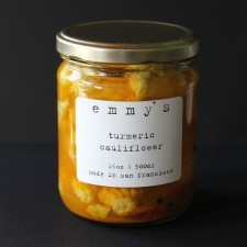 Emmy's turmeric cauliflower pickles. - EMMY'S PICKLES