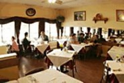 JAMES  SANDERS - Enjoy delicious, authentic piroshki, pelmeni, blini, and - vareniki in Cinderella's cozy, sunny dining room.