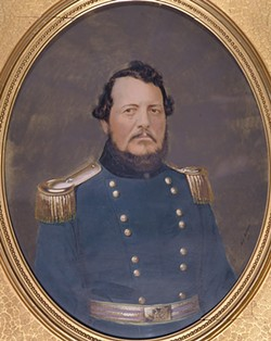 ALL IMAGES COURTESY OF THE FINE ARTS MUSEUMS OF SAN FRANCISCO - Erstwhile Sheriff Charles Doane glowers in his 1862 portrait. But he'd look worse later that year.