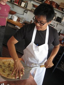 Espinas at Piccino in 2008. - THE YUM DIARY