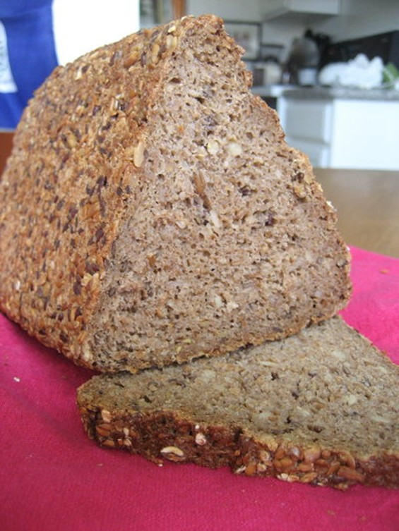 European Foods' triangle-shaped rye bread. - JONATHAN KAUFFMAN