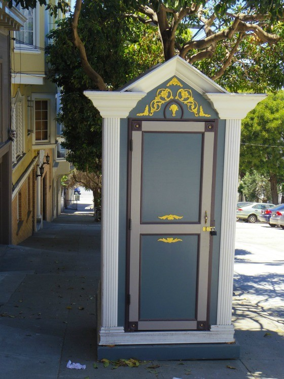 Even these fancy porta potties are gentrifying san for Porta johns for rent