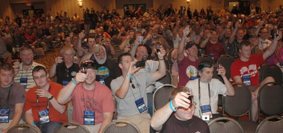 Every year, beer hobbyists from all over show up to geek out. - HOMEBREWERS ASSOCIATION