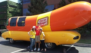 Everyone remained clothed, alas - OSCAR MAYER