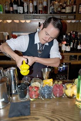 Ex-Rickhouse bartender Erick Castro. - RICK CARMARGO