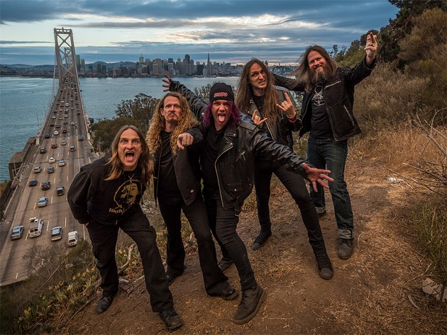 Exodus plays the Fox Theater tomorrow, Nov. 11, with Slayer and Suicidal Tendencies.