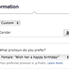 "Facebook No Longer Requires You to Be ""Male"" or ""Female"""