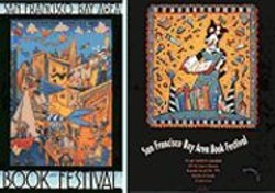 "POSTERS COURTESY OF DAVID COLE - Fairer Days: Posters from early Book Festivals -- back - when the event was still ""absolutely free."""