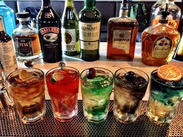 Fake cocktails - CHRIS COHEN