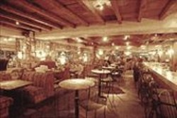 ANTHONY  PIDGEON - Fantasy Italy: Splendido's undeniably handsome interior is another of Pat - Kuleto's theme-park specials.