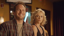 Far from Sweet Valley: Patrick Wilson and Charlize Theron.