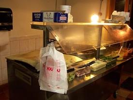 Fast food: Taqueria Vallarta's taco cart. - J. KAUFFMAN