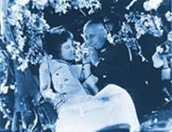 ERICH VON STROHEIM - Fay Wray and Erich von Stroheim March down the aisle.