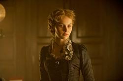 Felicity Jones, a Dickensian girlfriend.