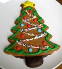 Fillmore Bakeshop's gingerbread tree.