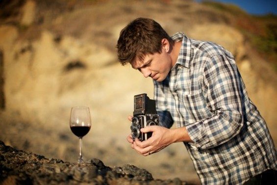 Filmmaker Jason Wise on set of SOMM, in theaters today.