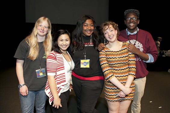 Finalists Allison Kephart, Gretchen Carvajal, Nya McDowell, Colleen Hamilton, and Obasi Davis. - ASHLEIGH REDDY