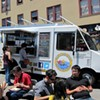 Fins on the Hoof Swims/Stampedes onto Food Truck Scene