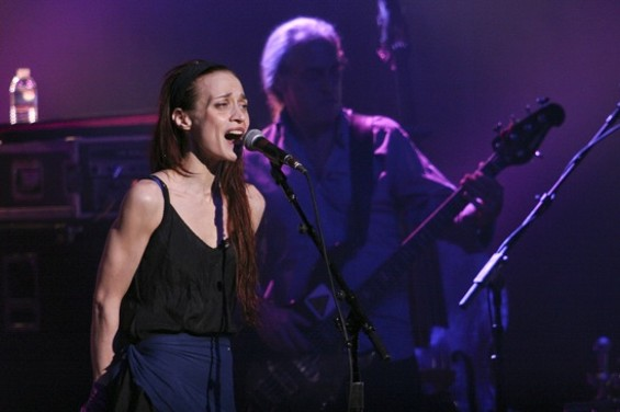 Fiona Apple at the Fox Oakland on Saturday. - CHRISTOPHER VICTORIO