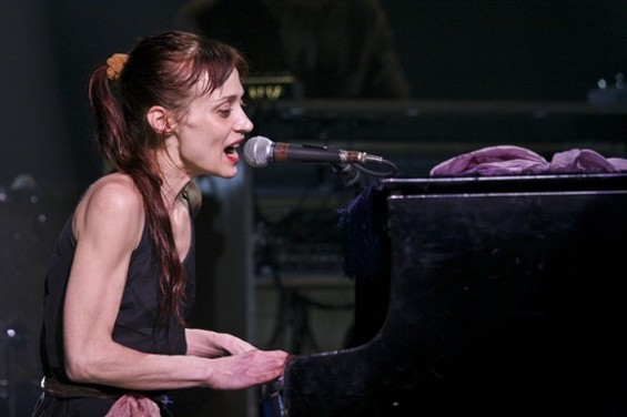 Fiona Apple at the Warfield last night. - CHRISTOPHER VICTORIO