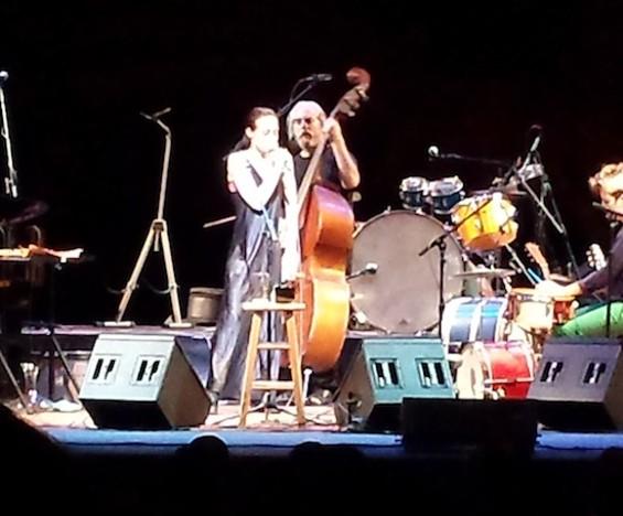 Fiona Apple at Zellerbach Hall last night. Photo courtesy Erin Short.