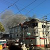 Fire Raging in Lower Haight