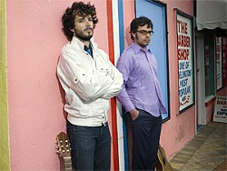 AMELIA HANDSCOMB - Flight of the Conchords: It's business time.