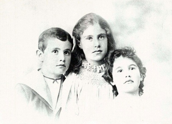 Florine, Charles, and Alice Haas