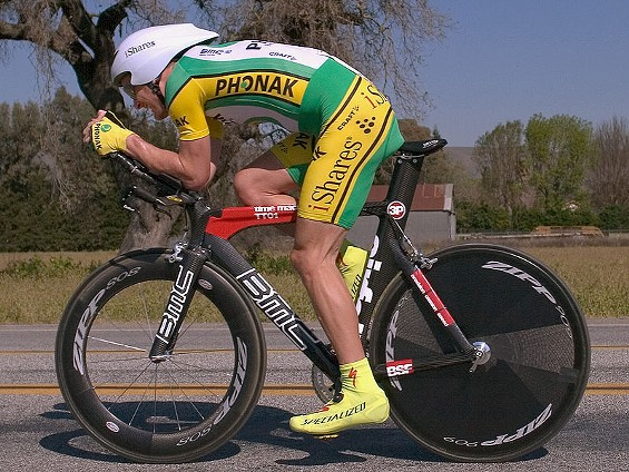 Floyd Landis during the 2006 Tour of California -- which he won