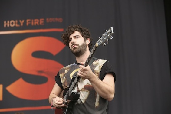 FOALS at Outside Lands on Sunday - CHRISTOPHER VICTORIO