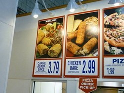For $3.79 you could buy a couple of Costco hot dogs and leave with change. - ALEX HOCHMAN