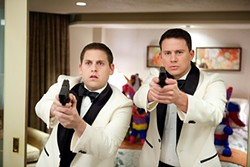For this long, the 21 Jump Street stars stopped talking about their dicks.