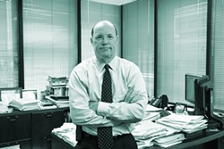 """CHARLES STECK - Former international securities lawyer Dennis Kelleher: """"Wall Street is a high-crime area in which we basically have no cops on the beat."""""""