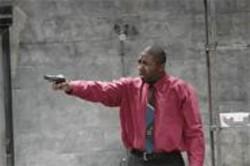 JAY  YAMADA - Foul Play: Tommy Shepherd brandishes something rotten.