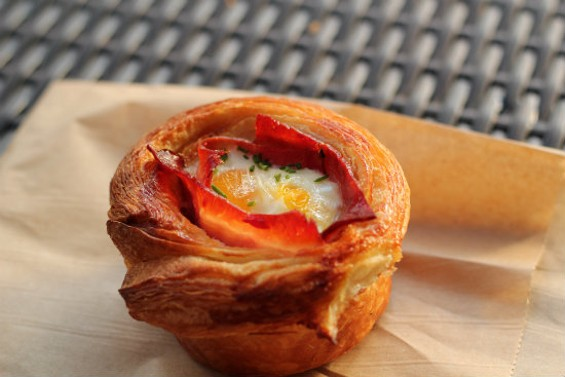 Fournée's Ham and Egg Croissant is a thing to behold. - MOLLY GORE