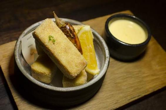 Frances's panisse frites. - GIL RIEGO JR.