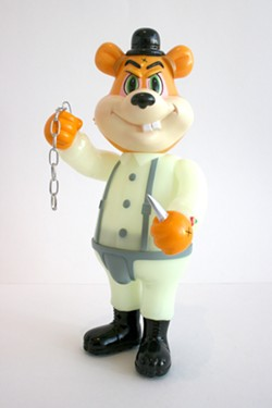 "Frank Kozik's ""A Clockwork Carrot Dim Bear"" from Woot Bear"
