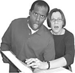 Fred Pitts and Julie Cleland appear in - The Dictionary Play in BOA's - week two.