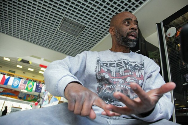 """""""Freeway"""" Rick Ross is aiming to return to South Central to sell drugs, but the legal kind. - GABRIELLE LURIE"""