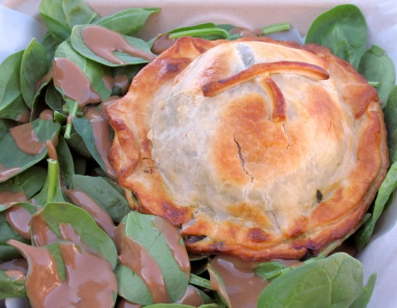 French style savory pie - LOU BUSTAMANTE
