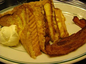 French toast at the Lucky Penny. - FREYA.GEFN/FLICKR