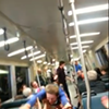 BART Passengers Pass Time With Crowd Surfing (VIDEO)