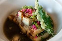 LARA HATA - Fried tofu with a satisfying dashi broth.