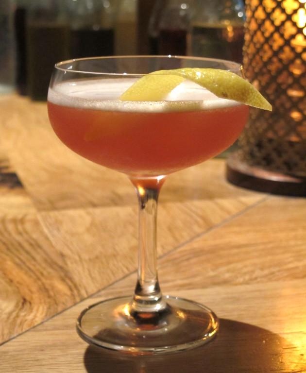 Friggs Slip cocktail - LOU BUSTAMANTE