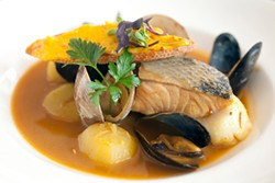 LARA HATA - From Marseille to San Francisco comes a classic bouillabaisse.