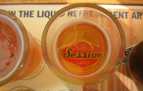 Full Sail's Session lager is brewed in Oregon, but there are plenty of good local options as well. - FLICKR/ALLISONKPARK