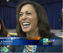 Funny ha ha? - SCREENGRAB VIA KCRA